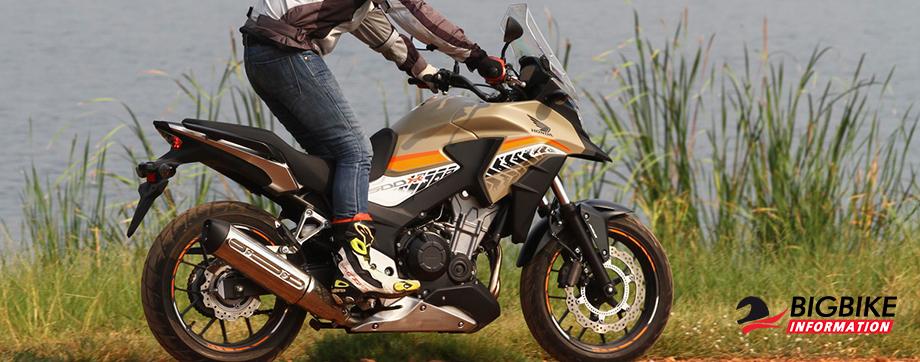 ภาพ Honda CB500X สีครีม