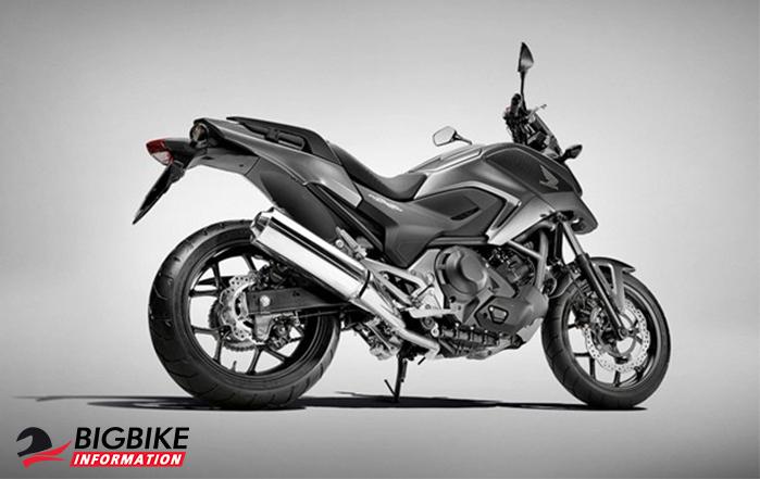 ภาพ Honda NC750X สีดำ