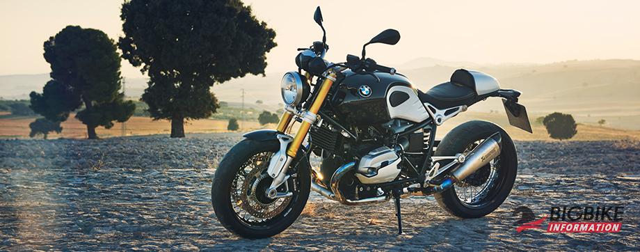 ภาพ BMW R NINE T สีดำ ด้านหน้า