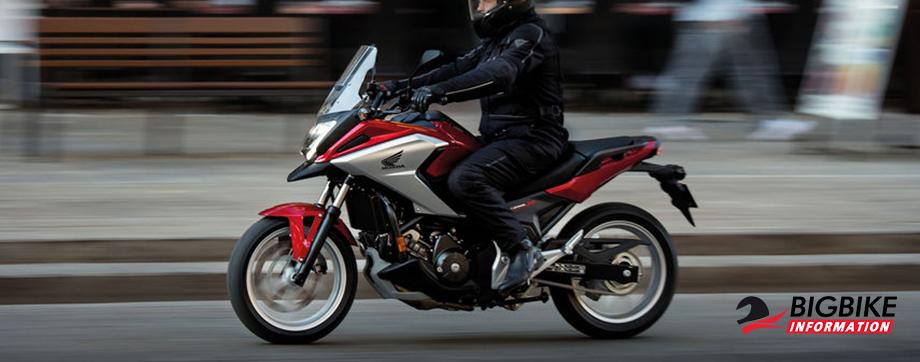 ภาพ Honda NC750X สีแดง-ขาว