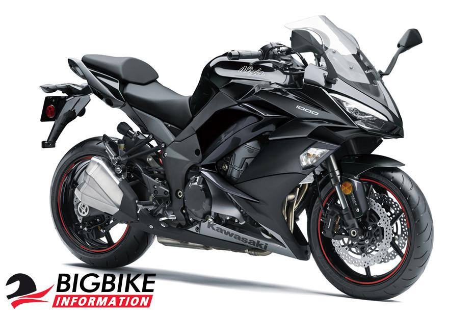 ภาพ Kawasaki Ninja 1000 ABS สีดำ