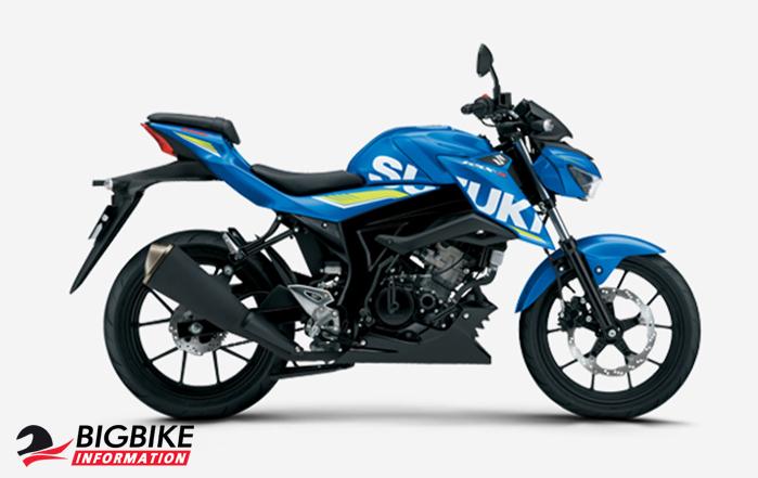 ซูซูกิ จีเอสเอ็กซ์-เอส 150 สีน้ำเงิน