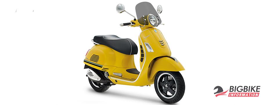 ภาพ VESPAGTS SUPER 300 ABS SPORT EDITION สีเหลือง