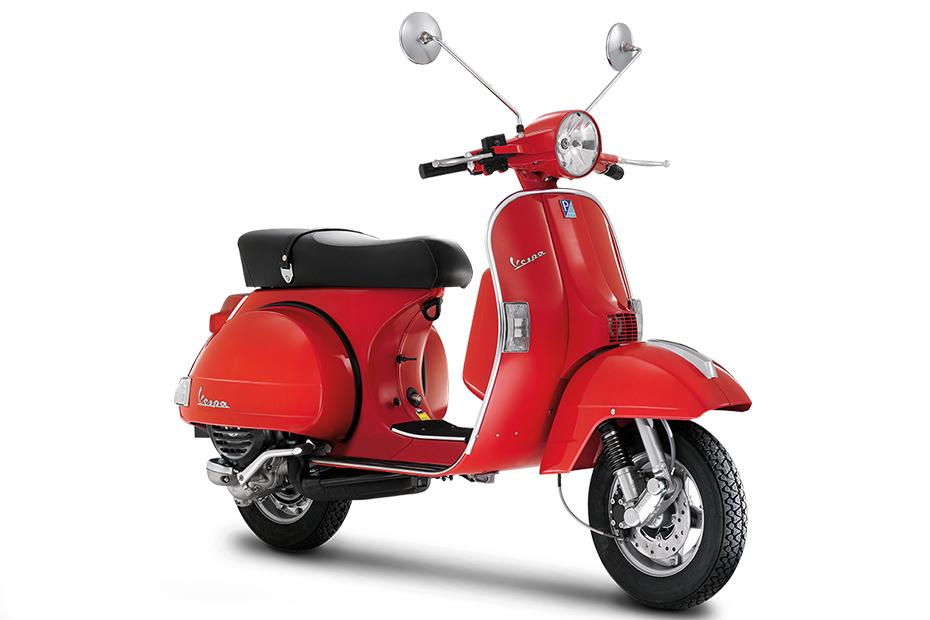 Vespa PX 125 สีแดง