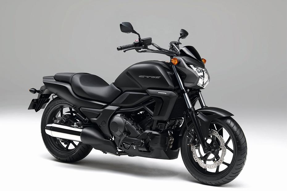 ภาพ Honda CTX700N MT สีดำ