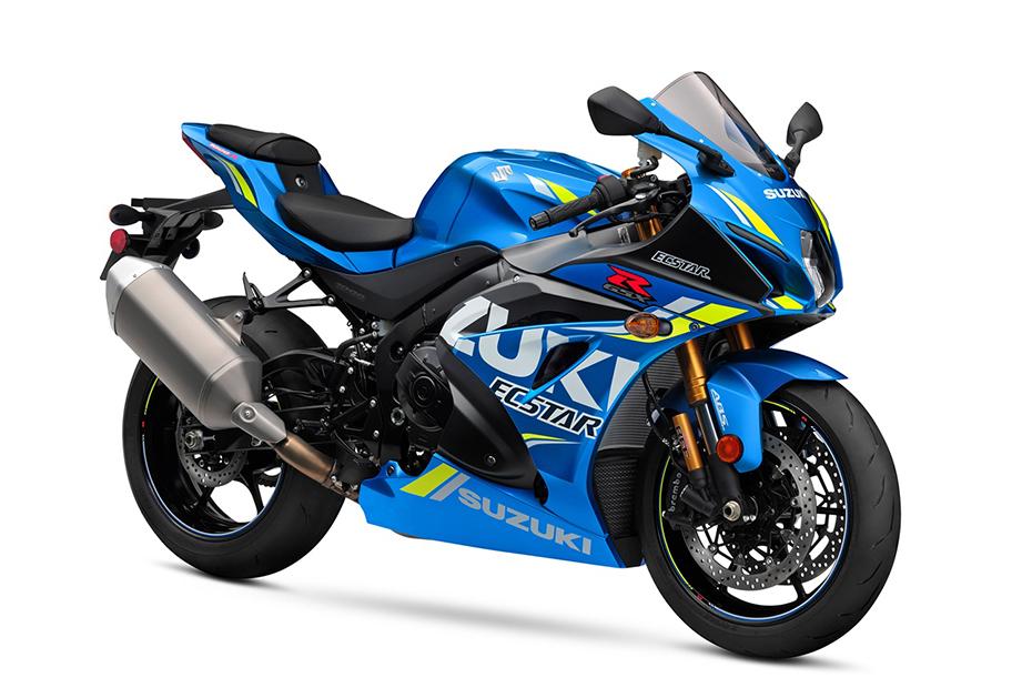 Suzuki GSX-R1000R ABS สีน้ำเงิน