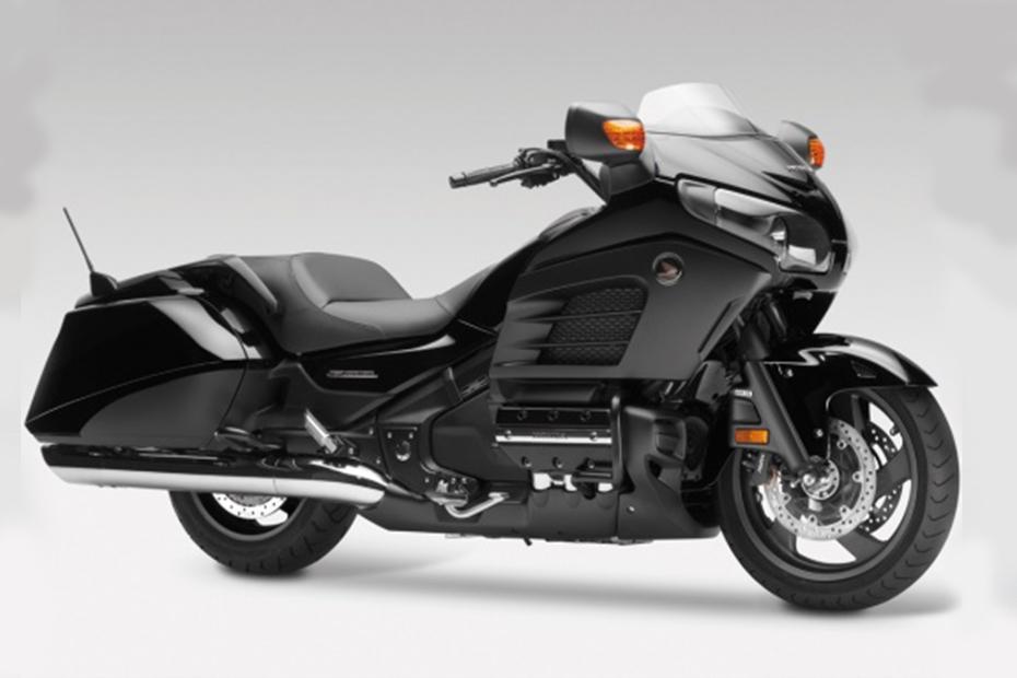 ภาพ Honda Goldwing F6B สีดำ