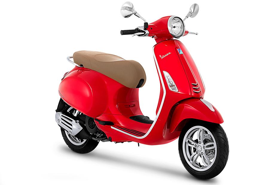 Vespa Primavera 150 I-GET ABS สีแดง