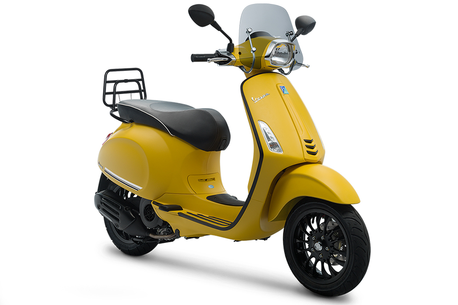 Vespa Sprint 150 I-GET Sport Edition สีเหลือง