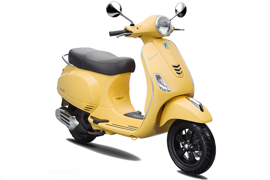 Vespa LX 125 I-GET สีเหลือง