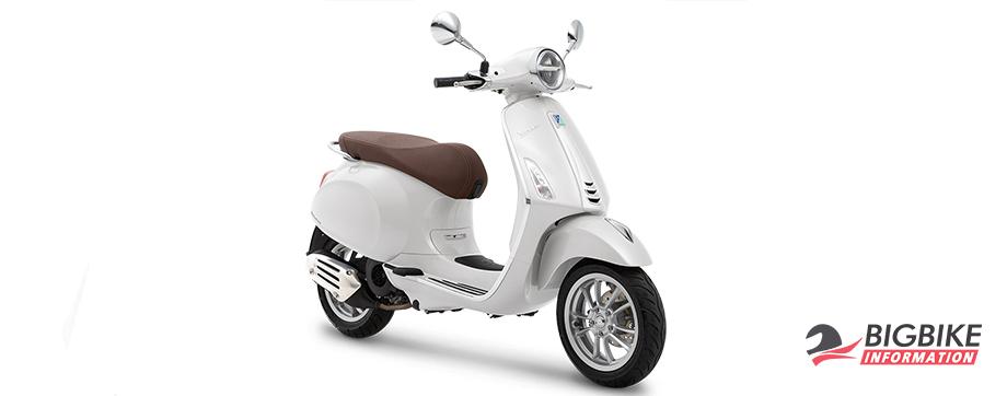 ภาพ VESPA PRIMAVERA 150 I-GET ABS สีขาว