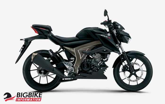 ซูซูกิ จีเอสเอ็กซ์-เอส 150 สีดำ