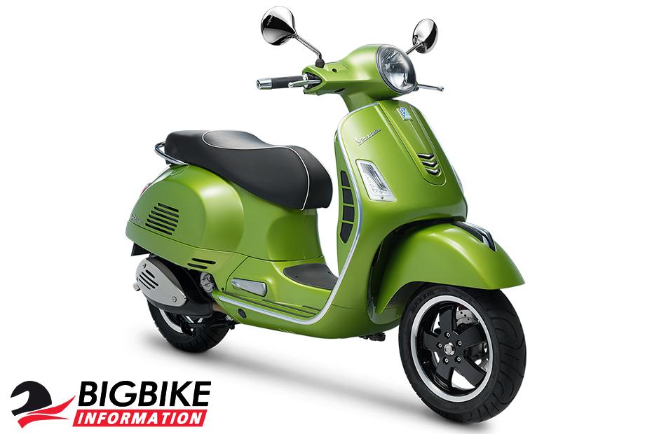 เวสป้า จีทีเอส ซูเปอร์ 300 เอบีเอส สีเขียว