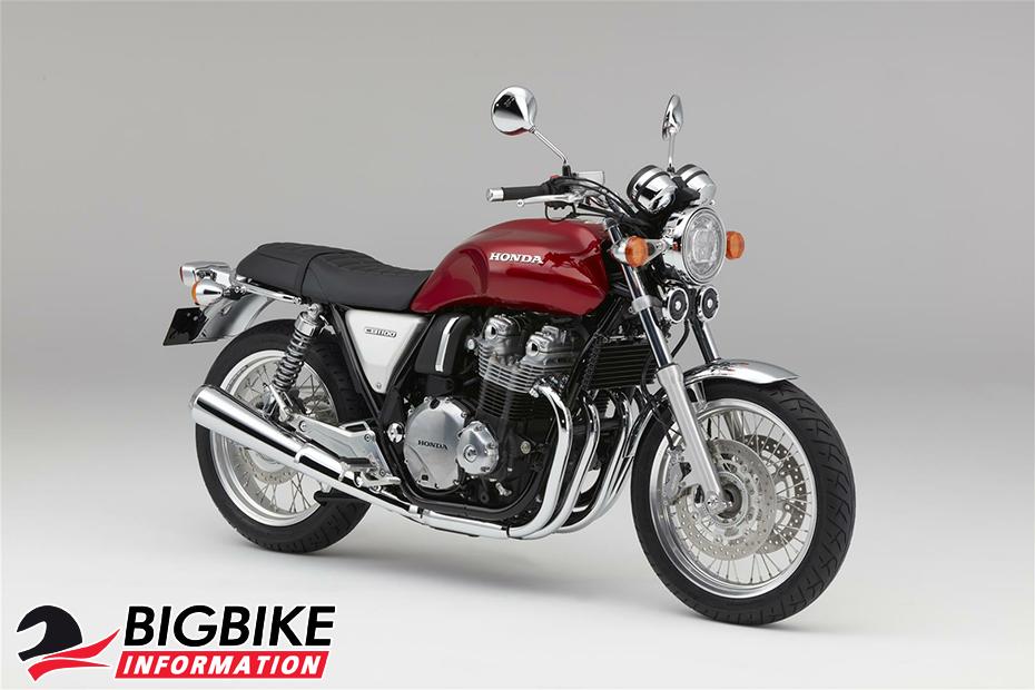 ภาพ Honda CB1100EX สีแดง ด้านข้าง