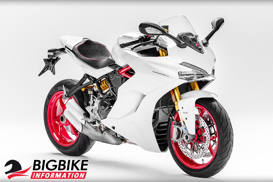 ภาพ Ducati SuperSport S สีขาว ด้านหน้า