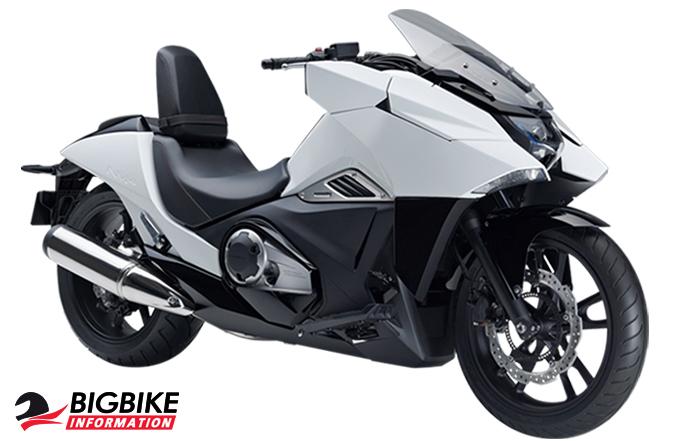 ภาพ Honda NM4 สีขาว