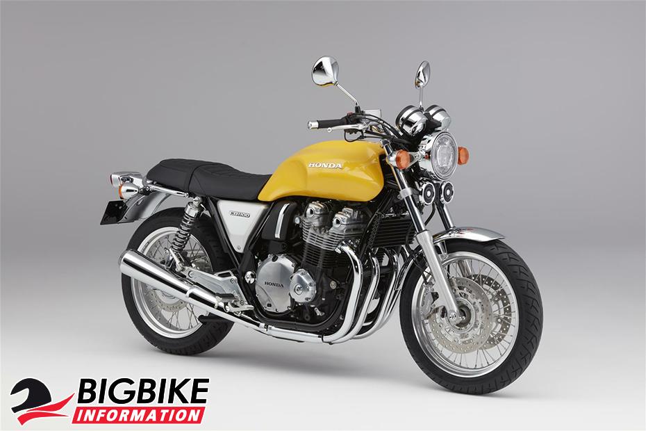 ภาพ Honda CB1100EX สีเหลือง ด้านข้าง