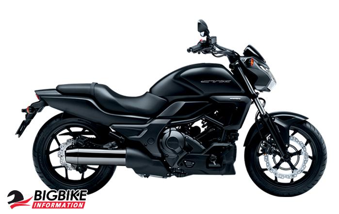 ภาพ Honda CTX700N MT สีดำ ด้านข้าง