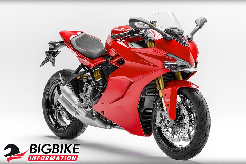 ภาพ Ducati SuperSport S สีแดง ด้านหน้า