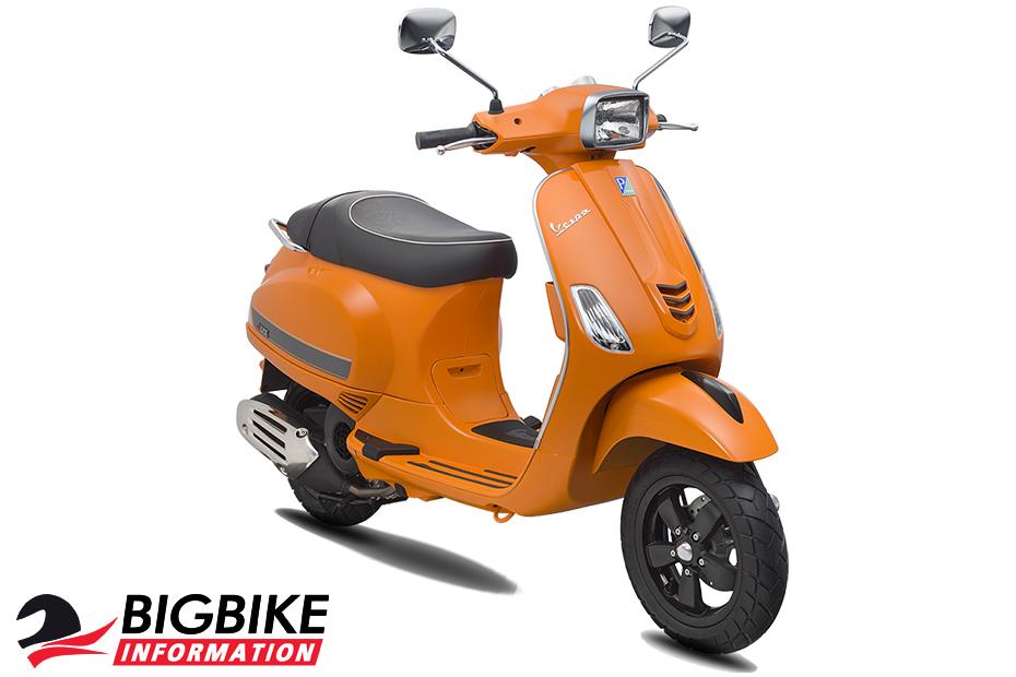 เวสป้า เอส 125 ไอ-เก็ต สีส้ม