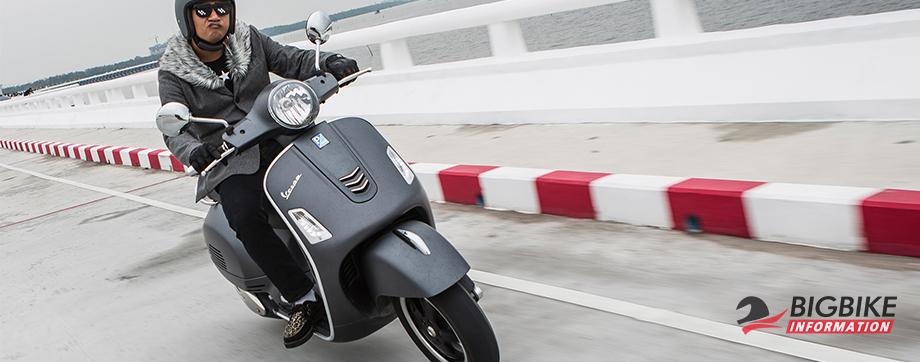 ภาพ VESPA GTS SUPER 300 ABS สีเทา