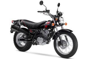 Suzuki VanVan RV200 สีดำ