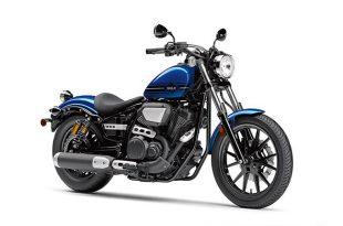 ภาพ Yamaha BOLT-R สีน้ำเงิน ด้านหน้า
