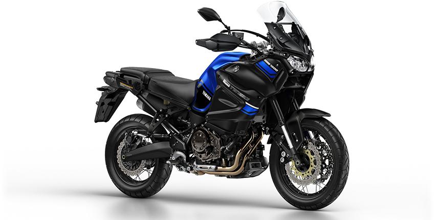 ภาพ Yamaha Super Tenere สีน้ำเงิน ด้านข้าง