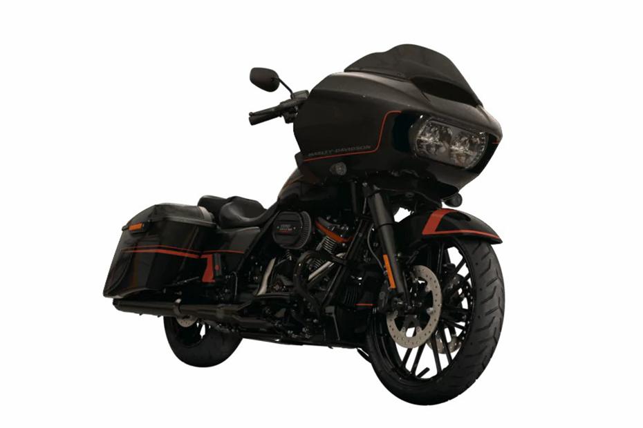 ภาพ Harley Davidson CVO ROAD GLIDE สีดำ ด้านหน้า