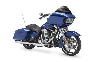 ภาพ Harley Davidson TOURING ROAD GLIDE สีน้ำเงิน