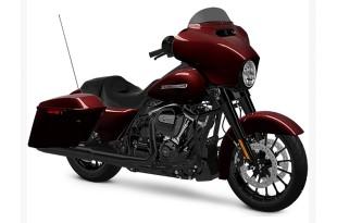 ภาพ Harley Davidson STREET GLIDE SPECIAL สีแดง ด้านข้าง