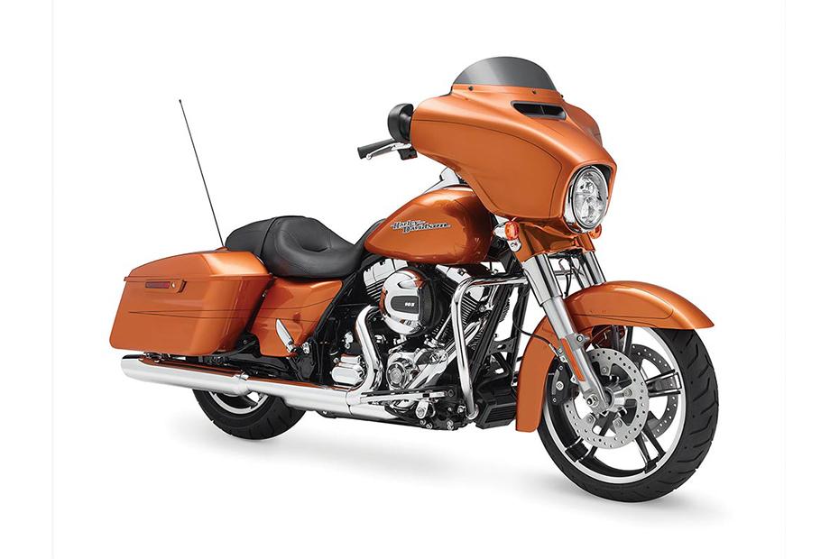 ภาพ Harley Davidson TOURING STREET GLIDE สีส้ม