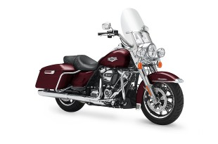 ภาพ HARLEY DAVIDSON TOURING ROAD KING สีแดง