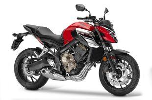 ภาพ Honda CB650F สีแดง