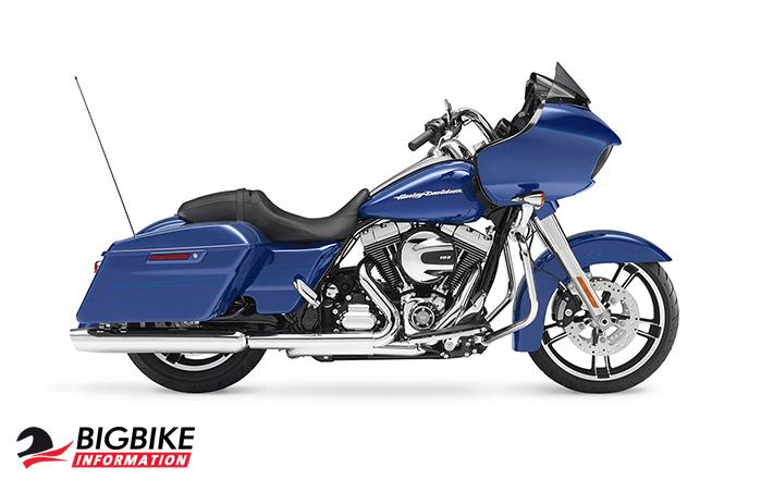 ภาพ Harley Davidson TOURING ROAD GLIDE สีน้ำเงิน ด้านข้าง