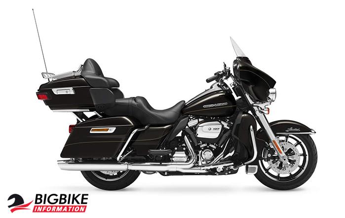 ภาพ Harley Davidson Touring Ultra Limited Low สีดำ ด้านข้าง