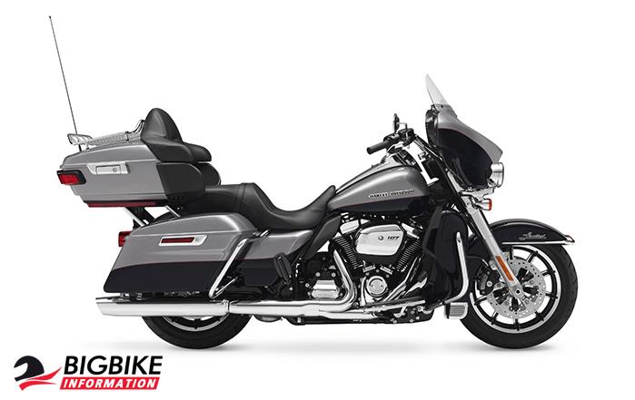 ภาพ Harley Davidson Touring Ultra Limited Low สีเทา ด้านข้าง