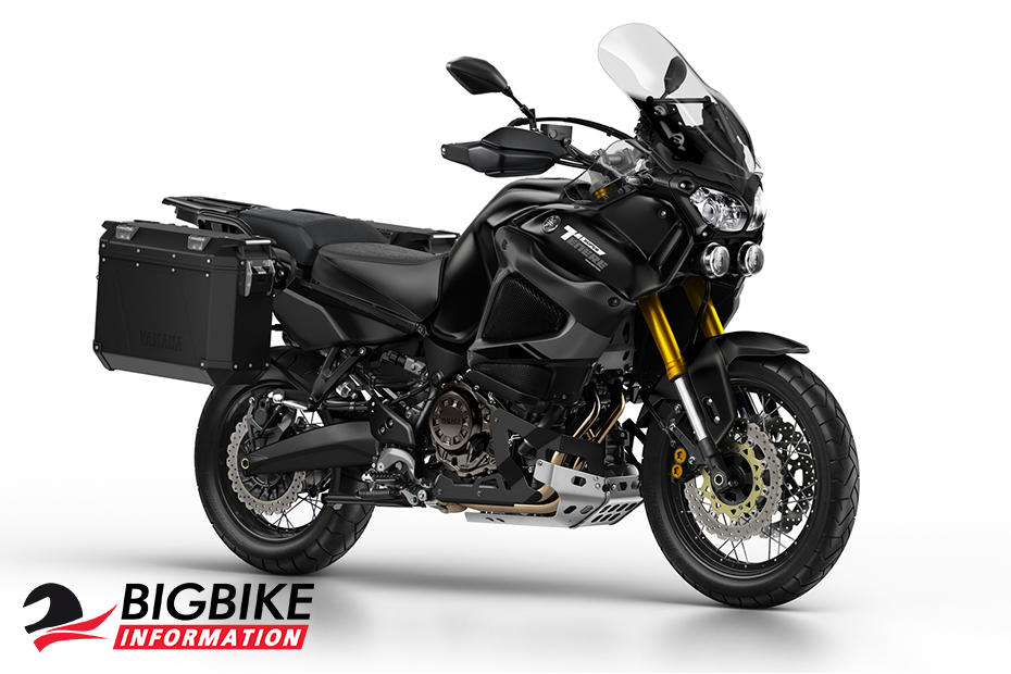 ภาพ Yamaha Super Tenere Full Option ด้านหน้า สีดำ