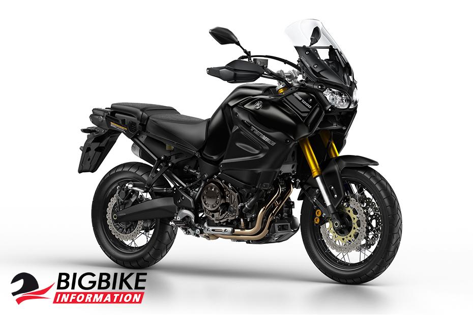 ภาพ Yamaha Super Tenere สีดำ ด้านหน้า