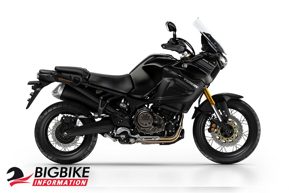 ภาพ Yamaha Super Tenere สีดำ ด้านข้าง