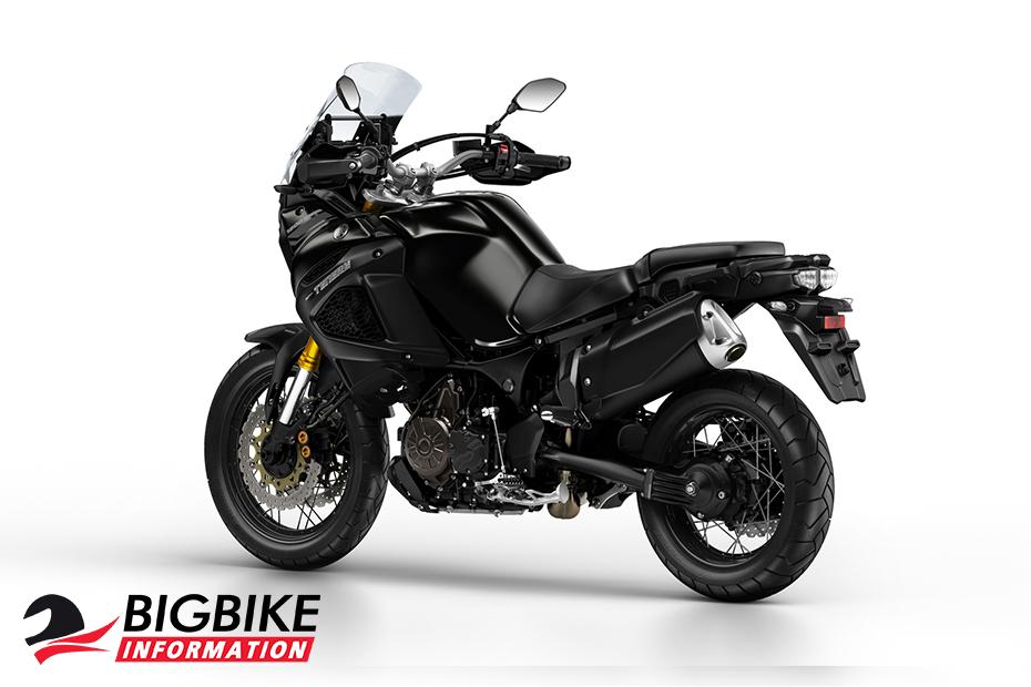 ภาพ Yamaha Super Tenere สีดำ ด้านหลัง