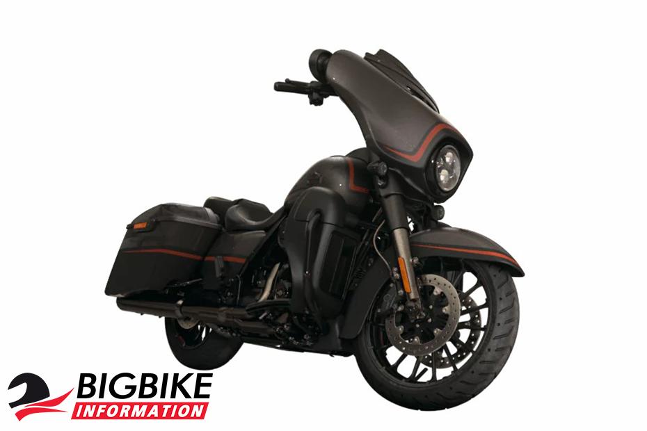 ภาพ Harley Davidson CVO STREET GLIDE สีน้ำตาล ด้านหน้า