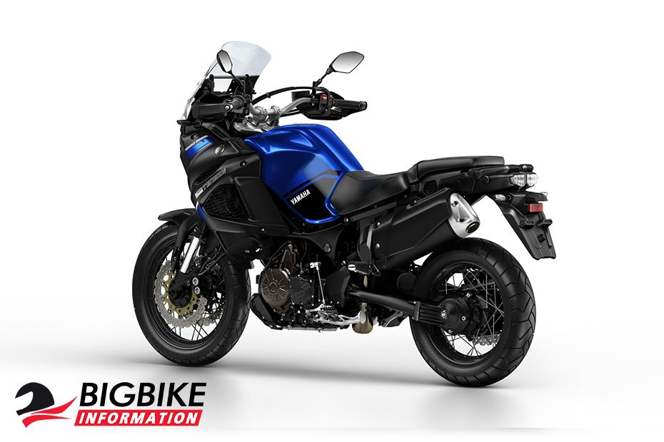ภาพ Yamaha Super Tenere สีน้ำเงิน ด้านหลัง