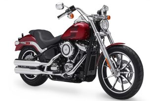 ภาพ Harley Davidson Softail Low Rider สีแดง