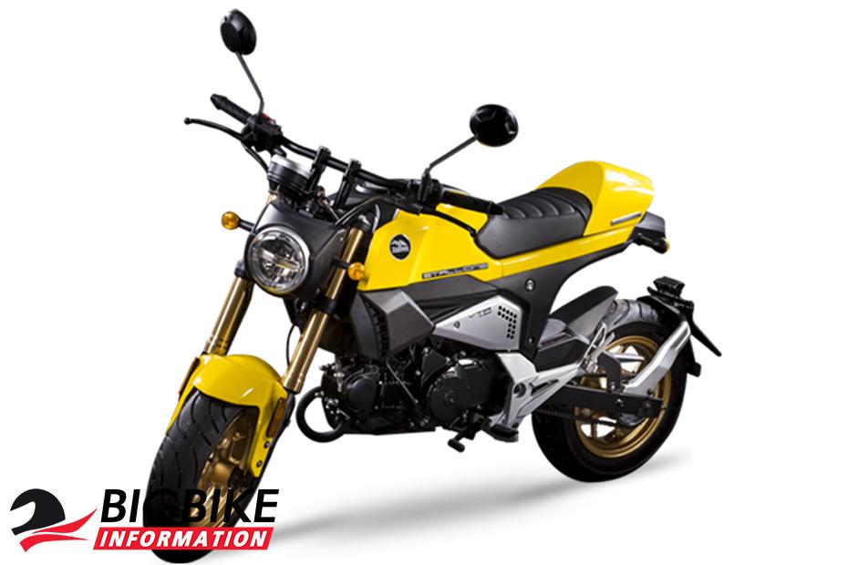 สตาเลียน วีทีอาร์125 สีเหลือง