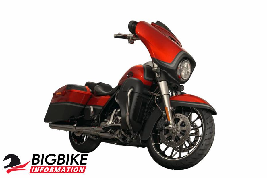 ภาพ Harley Davidson CVO STREET GLIDE สีแดง ด้านหน้า