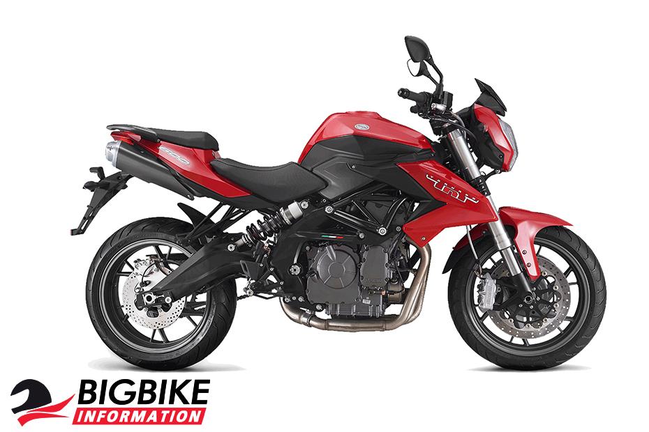 ภาพ Benelli TNT 600 สีแดง ด้านข้าง
