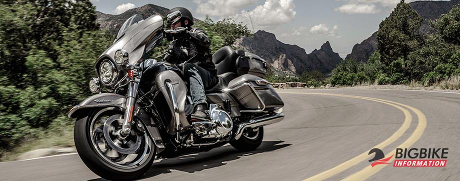 ภาพ Harley Davidson Touring Ultra Limited Low สีเงิน