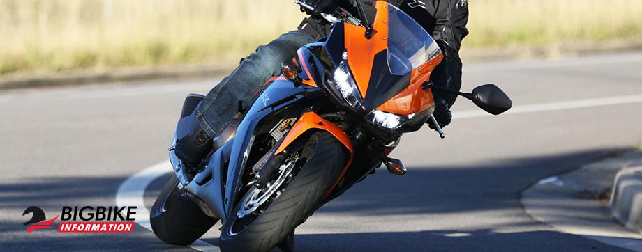 ภาพ Honda CBR500R สีส้ม