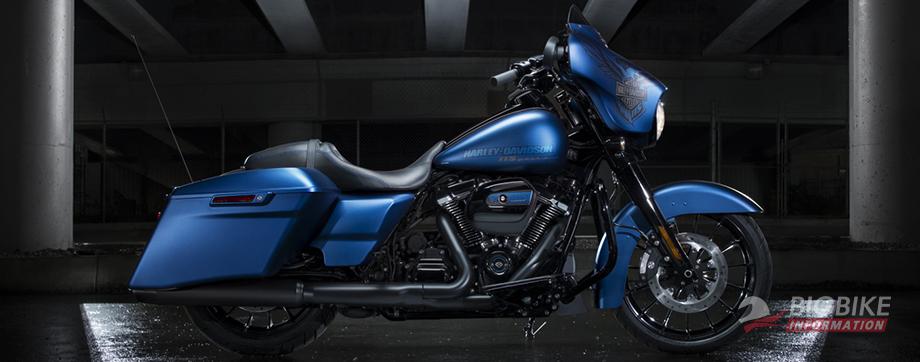 ภาพ Harley Davidson STREET GLIDE SPECIAL สีน้ำเงิน
